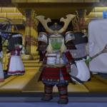 どわこ版若武者の甲冑セット