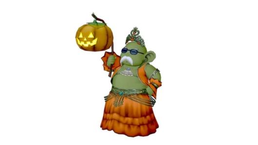 どわお版かぼちゃ姫衣装