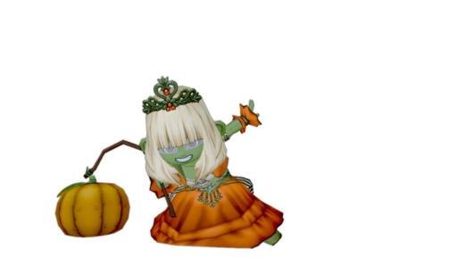 どわこ版かぼちゃ姫衣装