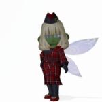 タータンガールスーツ